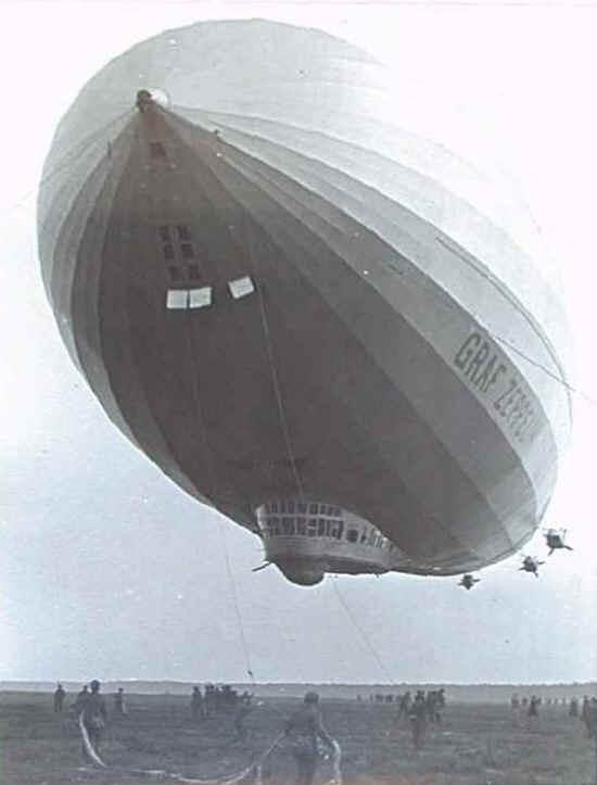 Сто тридцать четыре часа полета дирижабля «Граф Цеппелин»