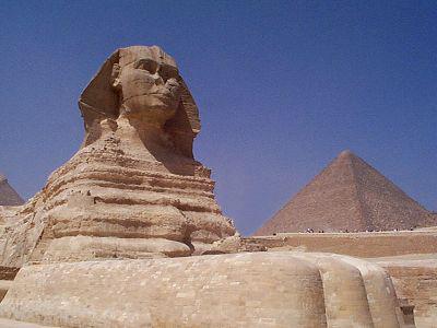 Сфинкс и Великие Пирамиды