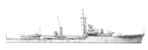 Эсминец тип «Випон»