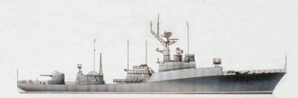 Пограничный сторожевой корабль «Изумруд» (проект 1124)