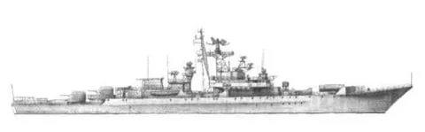 Фрегат тип «Krivak» (проект 1135)
