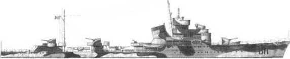 Эсминец тип «Сольдати»