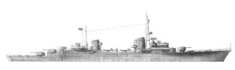 Эсминец тип «SP1» или «Z40»
