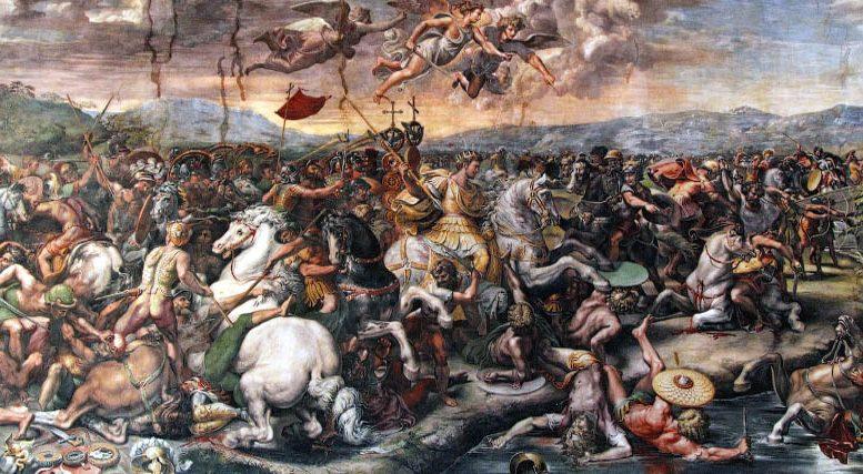 Съезд шести Императоров и битва на Мульвийском мосту