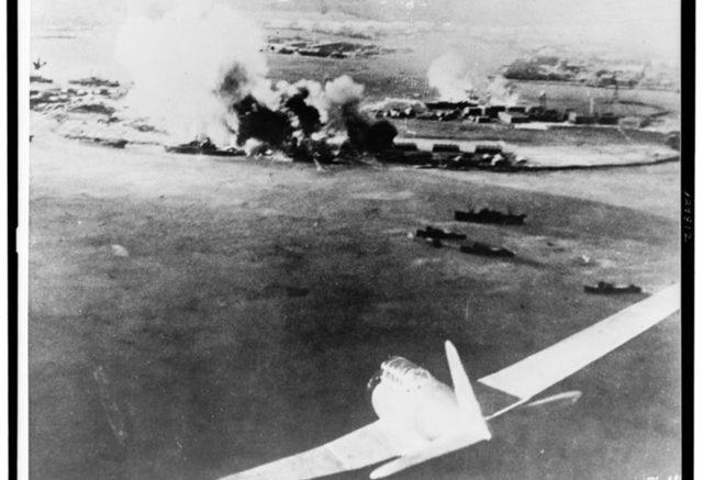 Нападение японцев на Пёрл-Харбор