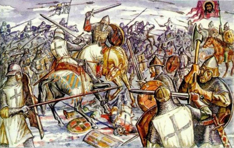 Картинки по запросу картинки ледовое побоище 1240 год