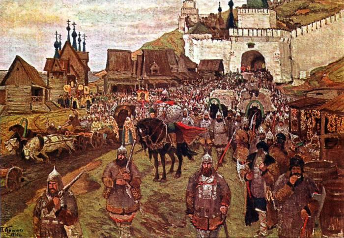 Освобождение Москвы от поляков (1612 год)