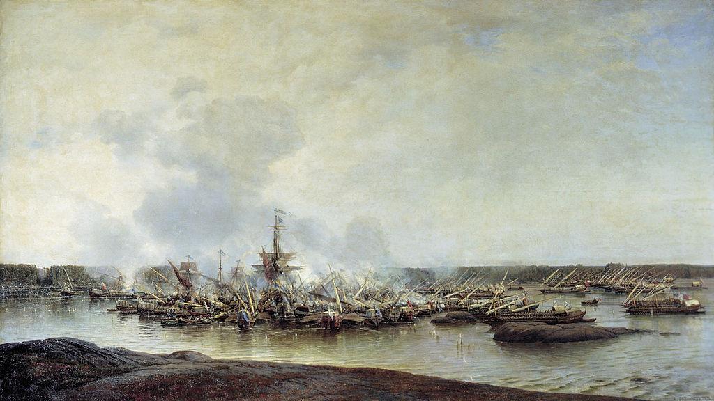 Гангутское морское сражение (1714 год)