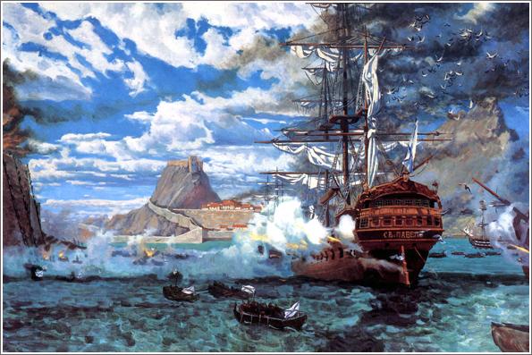 Штурм острова Корфу (1799 год)