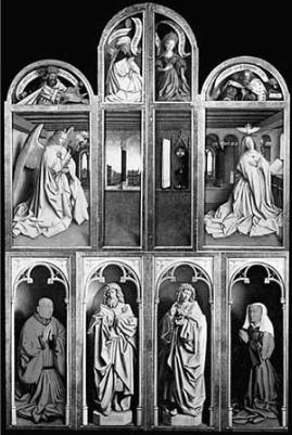 Гентский алтарь в соборе Святого Бавона