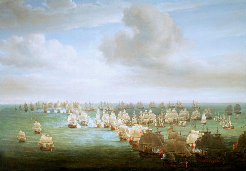 Трафальгарское морское сражение (1805 год)