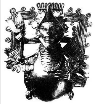 Нагрудное украшение воина-орла