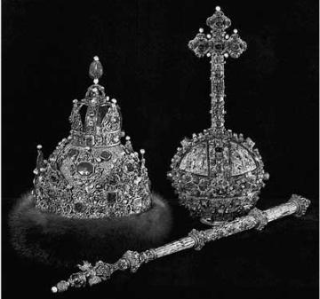 Большой наряд царя Михаила Федоровича