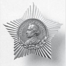 Орден и медаль Суворова