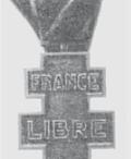 Знаки отличия французского Движения Сопротивления