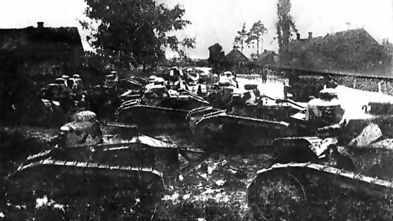 Варшавская операция войск Западного фронта Советской России во время войны с Польшей (1920 год)