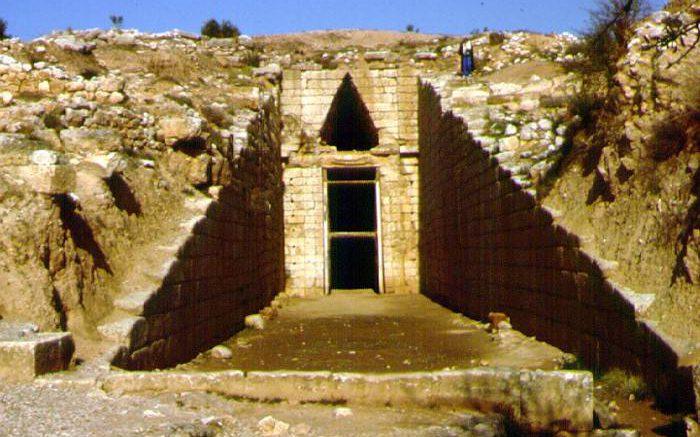 Царский некрополь в Микенах
