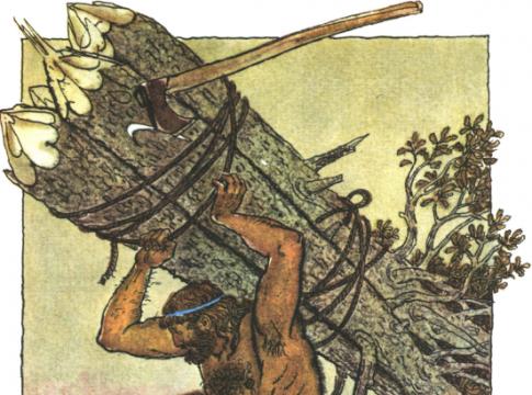 Как Геракл в один день очистил стойла царя Авгия