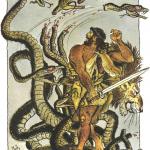 Геракл и битва с Лернейской Гидрой