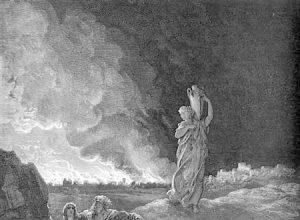 Наказанные богом Содом и Гоморра