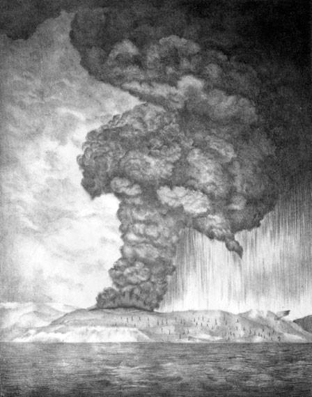 Кровожадный вулкан Кракатау