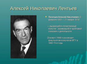 Леонтьев Алексей Николаевич
