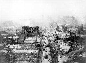 Разрушенный Сан-Франциско