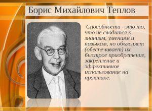 Теплов Борис Михайлович