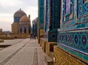 Улица мавзолеев в Самарканде