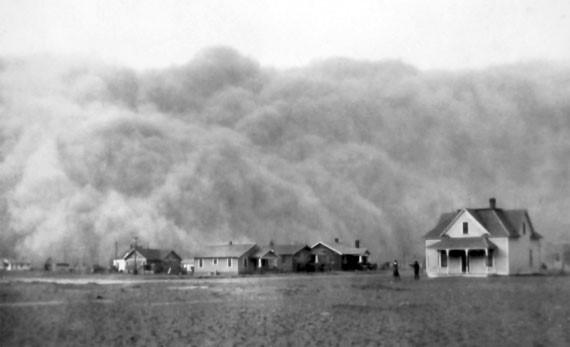 Губительные итоги песчаной бури