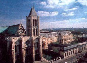 В аббатстве Сен-Дени