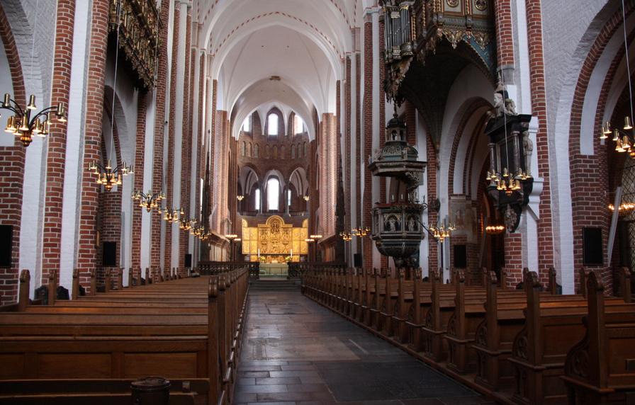 Усыпальница датских королей в Роскилле