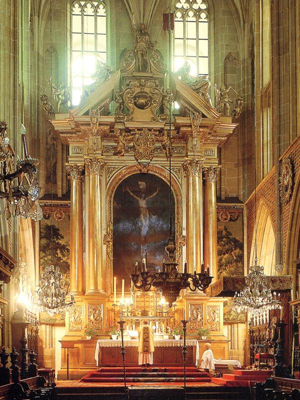 В Кафедральном соборе на Вавельском холме