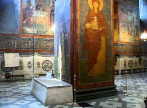 Усыпальница в Смоленском соборе Новодевичьего монастьря