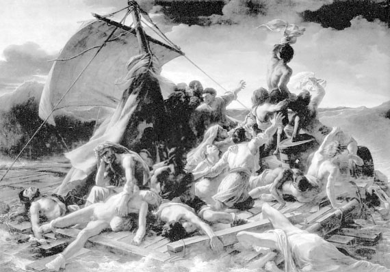 Гибель французского фрегата «Медуза»