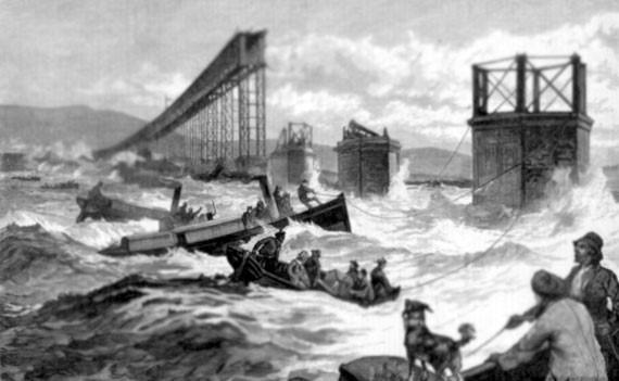 Разрушение Тэйского моста