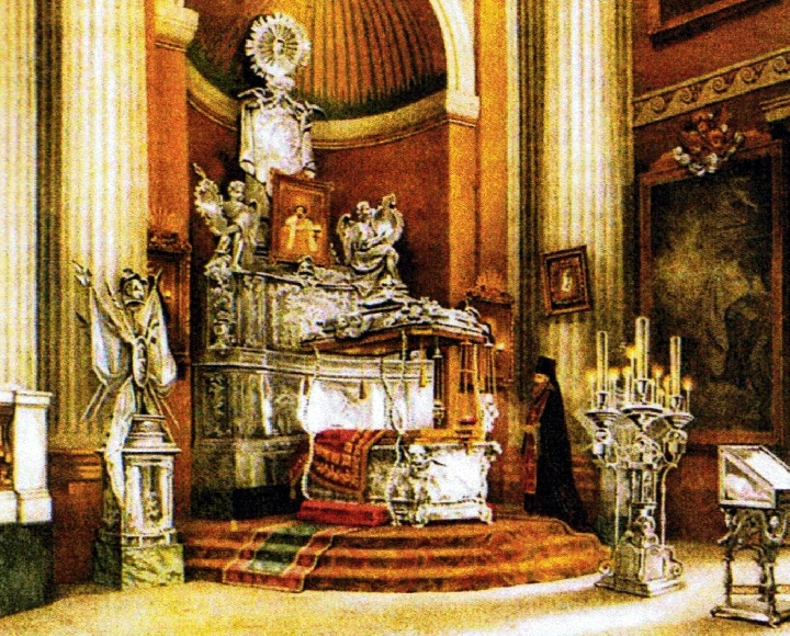 Ковчег и рака Александра Невского