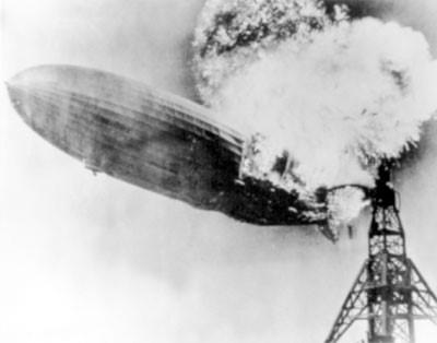 Крушение дирижабля «Гинденбург»