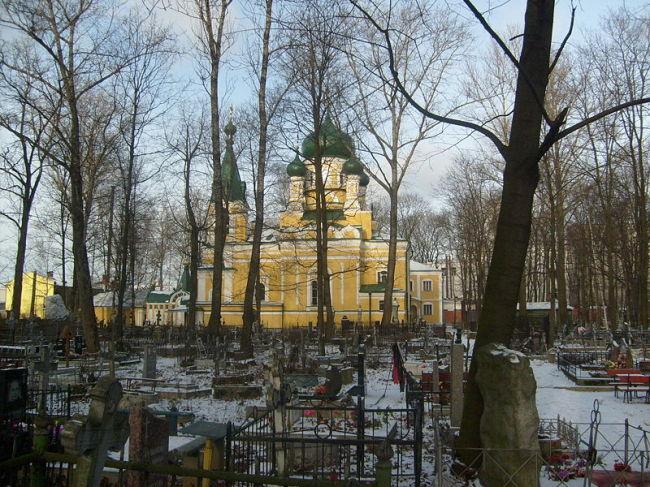 Волково кладбище в Санкт-Петербурге