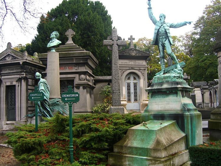 Парижское кладбище Пер-Лашез