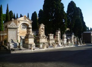 Кладбища Рима