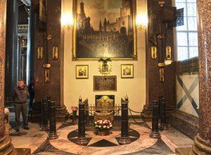Могила М.И. Кутузова в Казанском соборе