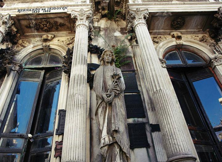 Кладбище Реколета в Буэнос-Айресе