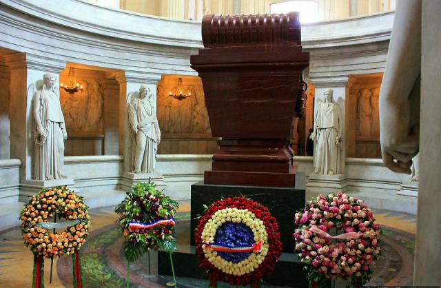 Могила Наполеона в Доме инвалидов