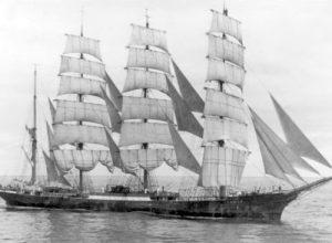 Последнее плавание парусника «Памир»