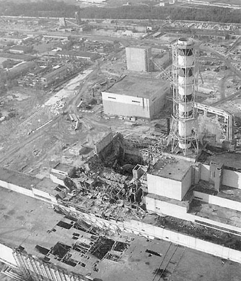 Чернобыль – невидимая смерть