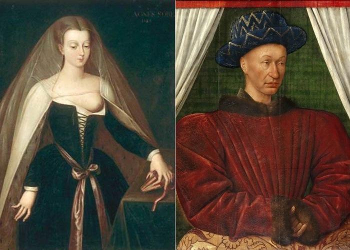 Агнесса Сорель — Карл VII Французский