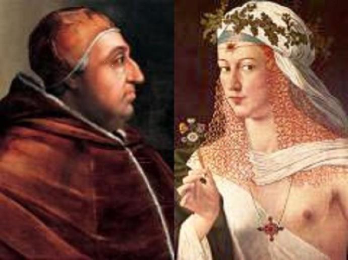 Роза Ваноцци — Папа Римский Александр VI Борджиа