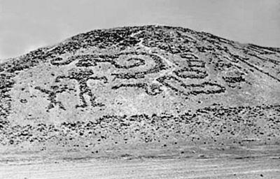 Самые древние граффити?