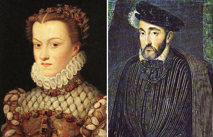 Диана де Пуатье — Генрих II Французский